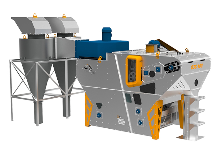 Netted grain cleaner OZS series